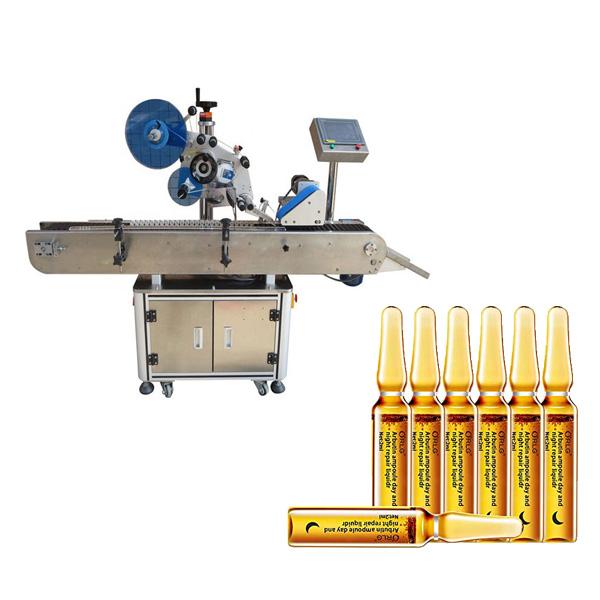 Maskine til ampulemærkning