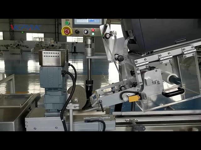 Automatisk C-formet Clamshell-mærkningsmaskine