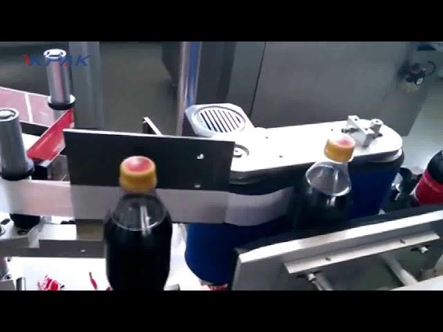 Automatisk cola flaske mærkning maskine