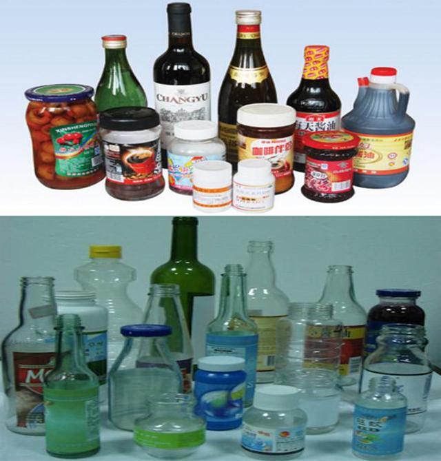Automatisk lineær runde flasker Koldpasta Våd limmærke maskine