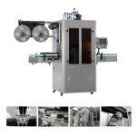 Automatisk flydende vandjuice te drik PVC ærme krympemærkningsmaskine
