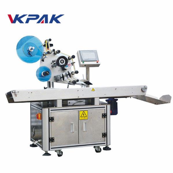 Automatisk top overfladeplan klæbemiddel fladning mærkning maskine