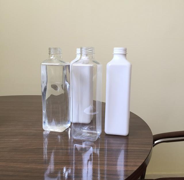 Automatiske lodrette firkantede flasker Firesider Mærke maskindetaljer 2