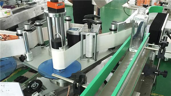 Automatiske lodrette firkantede flasker Firesides mærkning maskindetaljer