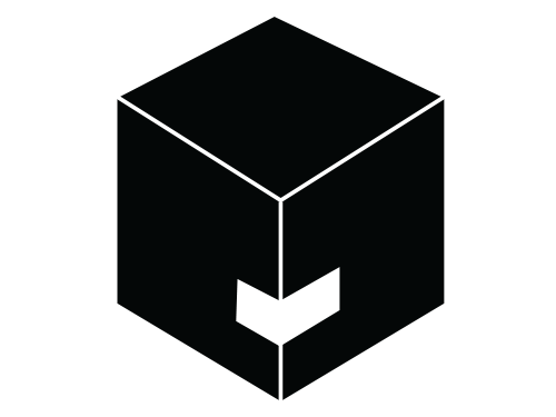 Etiket til hjørneindpakning