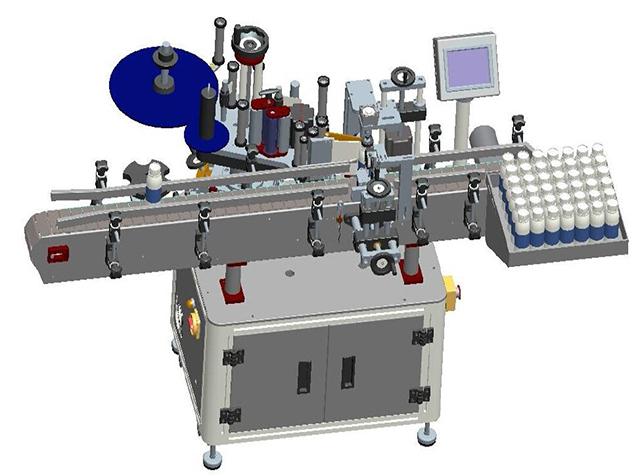 Tegning af mærkningsmaskine