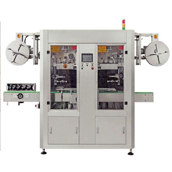 Dual Lane automatisk PVC krympemuffe applikator maskine