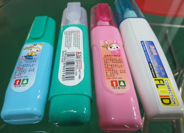 Endelige produkter til mærkning af prøver