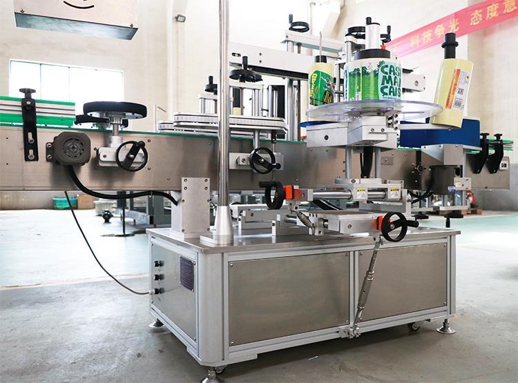 Fuldautomatisk dobbeltklæbende selvklæbende klistermærke maskine