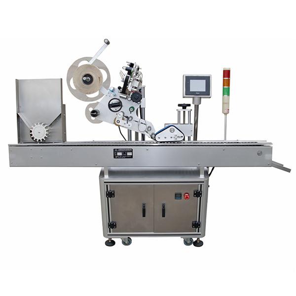 Fuldautomatisk vandret sprøjte Pharma mærkning maskine