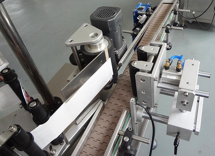 Høj kvalitet automatisk plastik rund flaske mærkning maskine