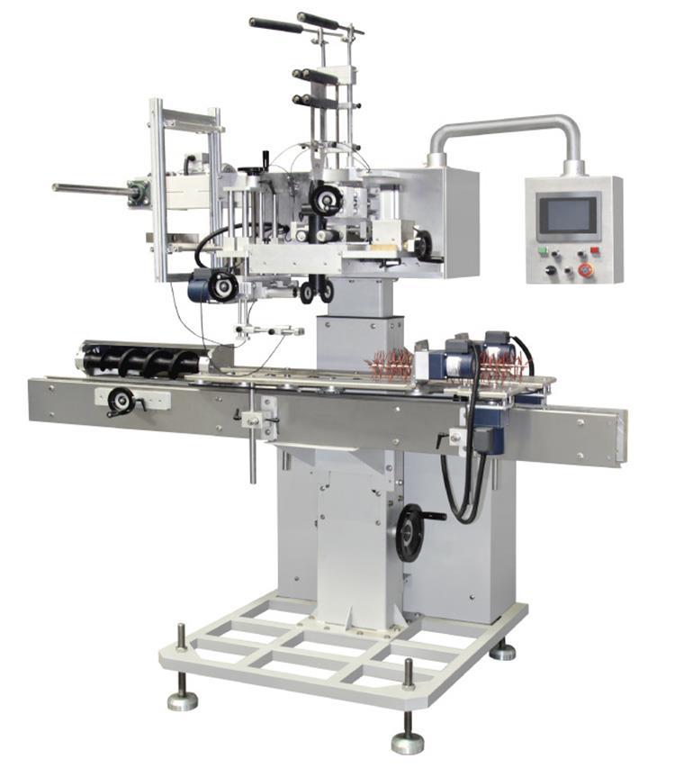 Høj kvalitet automatisk stræk ærme mærkning maskine