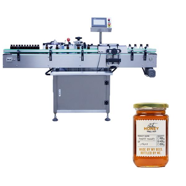 Jar mærkning maskine
