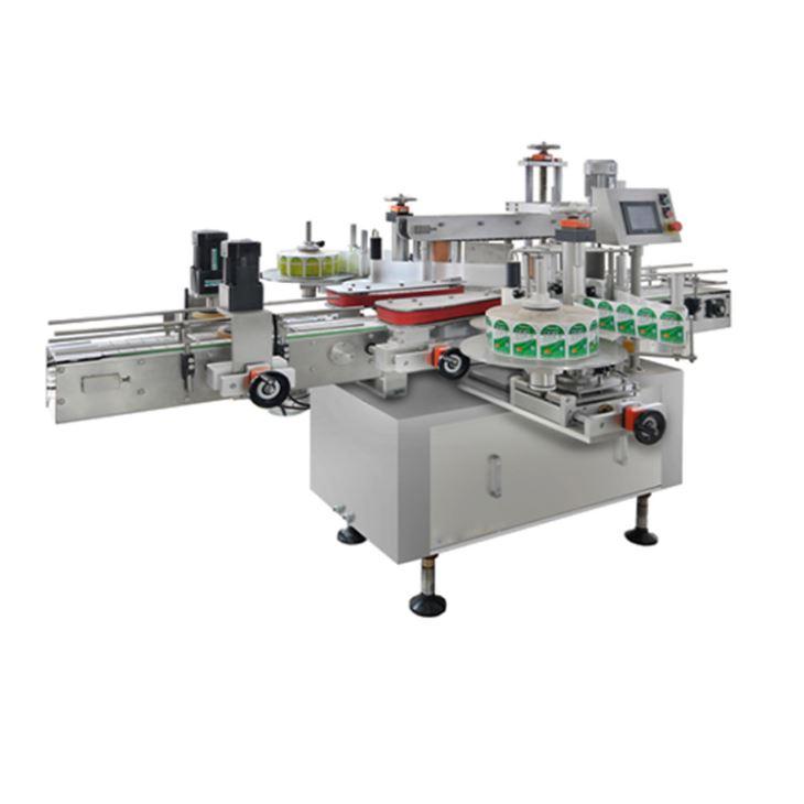 Lineær type fuldautomatisk flaskemærkningsmaskine til salg