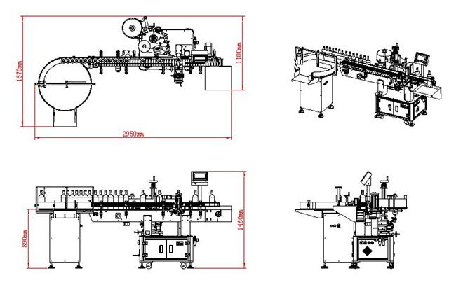 Maskinstruktur tegning