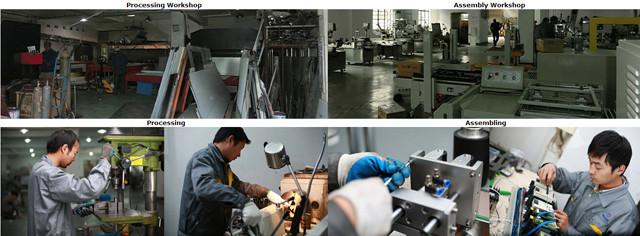 Fabrikationsanlæg til mærkning af maskiner