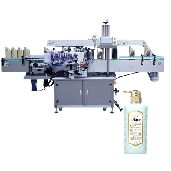 Oval flaskemærkningsmaskine