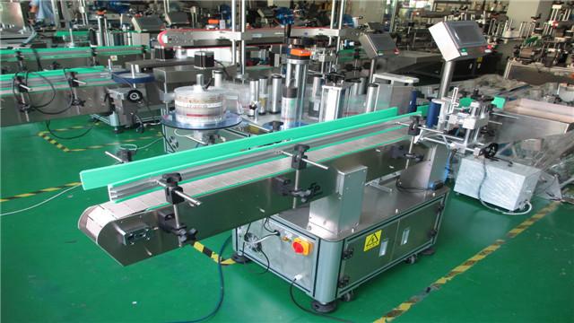 Maskiner til mærkning af runde flasker
