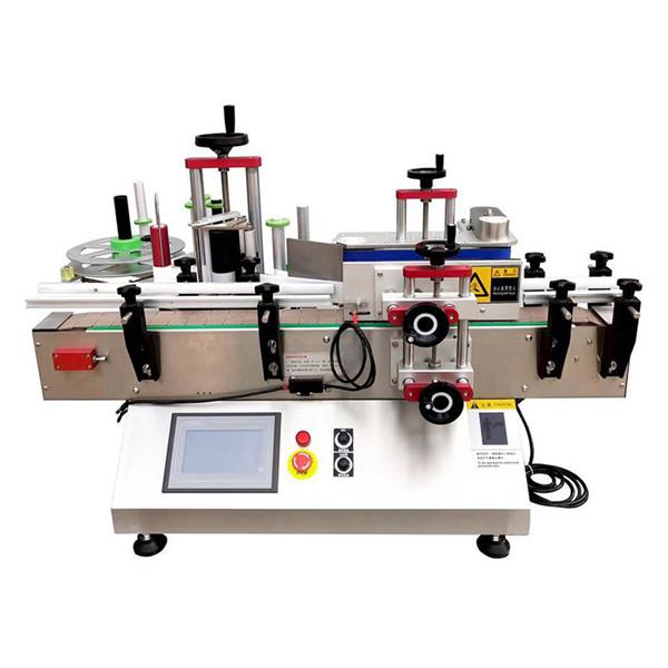 Bordplademaling kan vikles rundt om flaskemærkningsmaskine